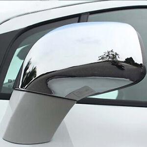 For Opel Vauxhall Mokka X 12- 19 Chrome View Side Mirror Cover Trim Cap Overlay
