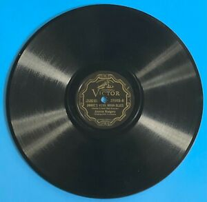 COUNTRY / JAZZ -- Jimmie Rodgers : Mean Mama Blues - VIctor 23503 - 78 (V+)
