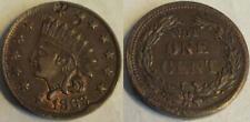 1863 Civil War Token- Indian Head/ Not One Cent