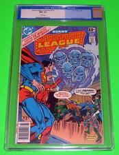 1978 JUSTICE LEAGUE OF AMERICA #156 CGC 9.6 White NM+ Aquaman Original Label DC