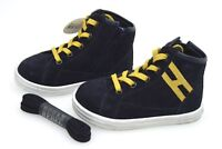 HOGAN REBEL R141 BAMBINO JUNIOR SCARPA SNEAKER CASUAL ART. HXT1410I3914C60AZN