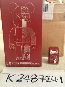 KAWS Dissected Bearbrick 400% ONLY (Brown) OriginalFake Medicom