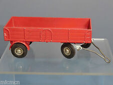 """DINKY TOYS  MODEL No.428 FARM  TRAILER  """"FINAL VERSION WITH CHROME HUBS """""""