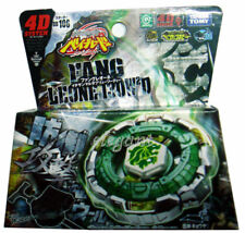 TAKARA TOMY Beyblade Metal Fight Fang Leone 130W2D BB106 4D System + Launcher