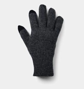 Under Armour KNIT WOOL MEN'S  Gloves 1331608-001 MSRP $40