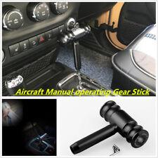 Universal Black Real Carbon Fiber Aluminum Gear Stick Shift Knob for Manual Car