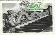 VIETNAM / INDOCHINE /  MAXIMUM CARD 1952  / DRAGON  / HO-CHI-MINH-VILLE / SAIGON