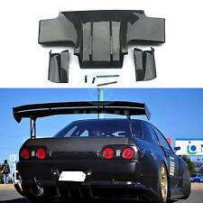 Carbon Fiber Rear Bumper Diffuser 5pcs For Nissan Skyline R32 GTR 89-94
