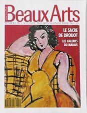 BEAUX ARTS MAGAZINE N° 51/DROUOT/MINOTAURE/PICASSO/HOGARTH/LOUIS SULLIVAN