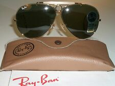 VINTAGE B&L RAY BAN L0213 ARISTA G15 WRAP-AROUND SHOOTER AVIATOR SUNGLASSES NEW*