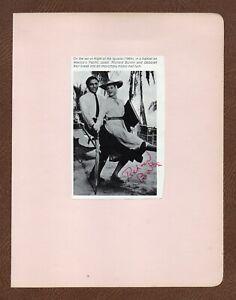 RICHARD BURTON Great ACTOR Signed Pic NIGHT OF THE IGUANA Dances w/ Deborah Kerr