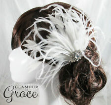 Feather Wedding Fascinators for Women