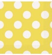 Tutto gialli di carta per la tavola per feste e party a tema principesse