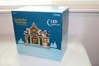 Carole Towne Lemax  - T&H Dog Daycare - New In Box - Light-up