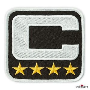 Football Captain Patch, American Football🏈 Team Leader Emblem, Embroidered