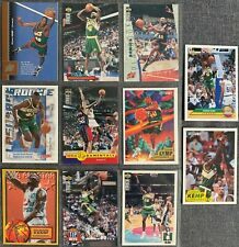 Shawn Kemp (Supersonics) 11 Basketball-Common-Card Lot