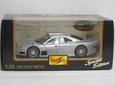 Mercedes-Benz CLK-GTR in silber, Maisto, OVP, 1:26