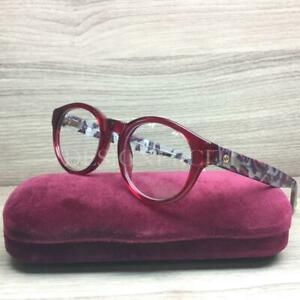 Gucci GG3764 3764 Eyeglasses Opal Red Matte Blue Red Marble H38 Authentic 48mm