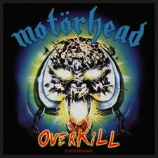 MotorHead Overkill Sew on Patch Woven Music Official Band Rock Heavy Metal