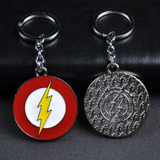 DC Comics Justice League The Flash Design Logo Alloy Key Chains Keychain Keyring
