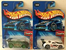 2004 Hot Wheels TOONED Toyota MR2 Color Variations Lot #038 Rare Green +White