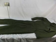 US NAVY FLIGHT DECK CREW COVERALLS UTILITY COVERALLS GREEN FLIGHT OPERATIONS