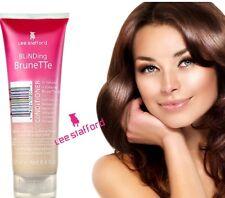 Lee Stafford Blinding Brunette Coloured Dye Hair Conditioner Treatment  250ml
