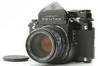 【Excellnet+5】 Pentax 6x7 67 TTL Mirror Up Body + SMC T 105mm f/2.4 Lens Japan