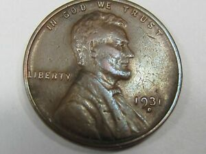 1931-D  Lincoln Wheat Cent #14098