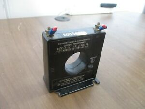 Siemens Model 5 SFT Current Transformer 25-154-041-027 Ratio 600:5A Used