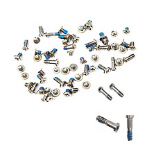 NEW FOR IPHONE 6 SCREW FULL SET WITH SILVER BOTTOM OUTER SCREWS