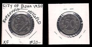 GERMANY - 50 PFENNIG 1920 GERMAN STATES - BONN