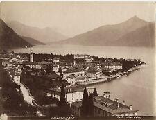 Italie Menaggio Lac de Côme Lago di Como Bosetti Vintage albumine ca 1880