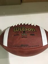 Wilson NFHS F1001 Leather GameFootball
