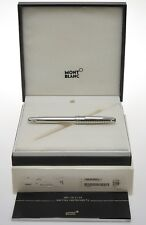 Montblanc Solitaire steel 144 fountain pen mint perfect in box
