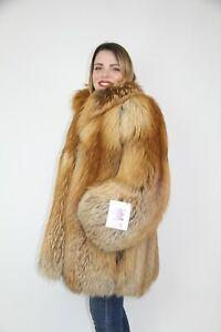 Saga Gold Fox Fur Coat Pelliccia Volpe Fourrure мех Nerz Pelzmantel Fur норки