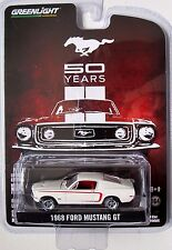 GREENLIGHT 50 YEARS of MUSTANG - 1968 FORD MUSTANG GT FASTBACK