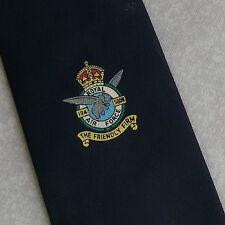 ROYAL AIR FORCE TIE THE FRIENDLY FIRM VINTAGE 1980s 1990s NAVY REGIMENTAL RAF