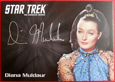 STAR TREK TOS 50th DIANA MULDAUR as Miranda Jones VERY LIMITED Autograph Card
