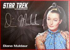 STAR TREK TOS 50th DIANA MULDAUR as Miranda Jones VERY LIMITED Autograph Card