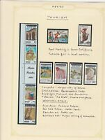 mexico tourism stamps page ref 17251