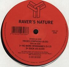 Raver's Nature Tricky symphony/No more mindgames/Suck us (1994) [Maxi-CD]