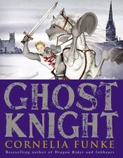 SIGNED 1st US print/edition Ghost Knight by Cornelia Funke (2012,New Hardcover)