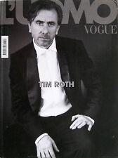 L'UOMO VOGUE 387 2008 Tim Roth Brady Corbet Charlotte Gainsbourg Laetitia Casta