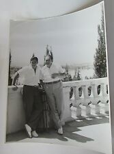EDWARD ARNOLD & SON VINTAGE DOUBLE WEIGHT 11X14 PHOTO @ HOME ON TERRACE LAKEVIEW