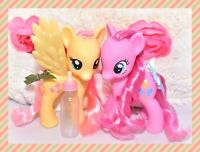 "❤️My Little Pony MLP Large 6"" Fashion Style FLUTTERSHY & PINKIE PIE 2010 Lot❤️"