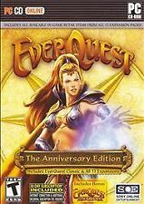 EverQuest: The Anniversary Edition (Pc, 2007)Complete+8 Discs+Case+Manual+Insert
