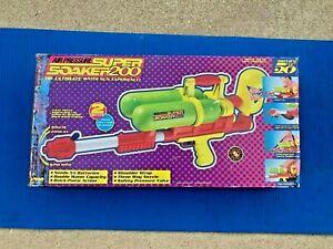 Original Larami Super Soaker 200 Vintage 1990 Toy NEVER USED! NEW! READ!