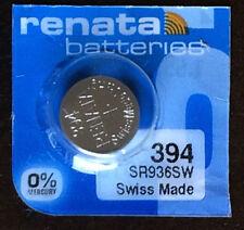 Renata 394 Battery (SR936SW) Swiss Made 1 pc