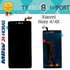 "Pantalla Completa LCD para Xiaomi Redmi Note 4 / 4X Snapdragon Color Negro 5,5"""
